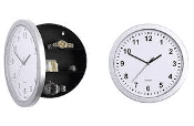 spy shop store - hidden safe wall clock
